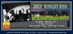 Bobby Midnight Band with Farm Fresh Fixins Food Truck