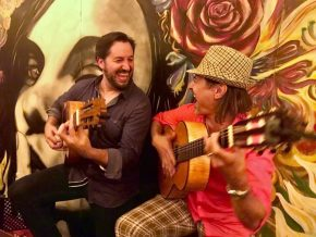 Latin and Gypsy Rumba Guitar Duo - Berto Sales and Vincent Zorn